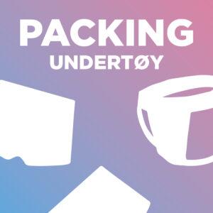 Packing undertøy og harness
